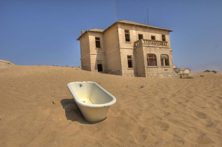 Diamond in the Desert: Kolmanskop, Namibia