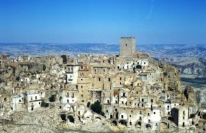 Craco Italy ghost town