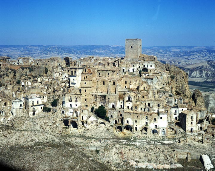 Mediterranean Ghost Town: Craco Italy | Sometimes Interesting