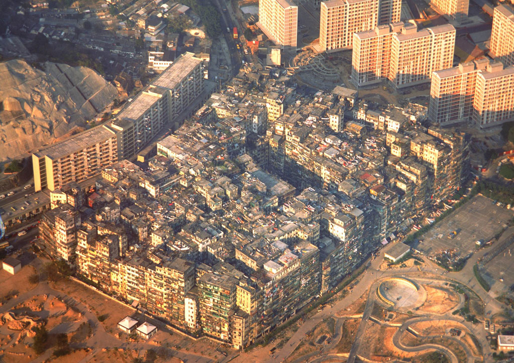 Population Density Nightmare: Kowloon Walled City