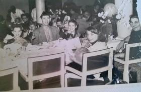 SS America April 1954