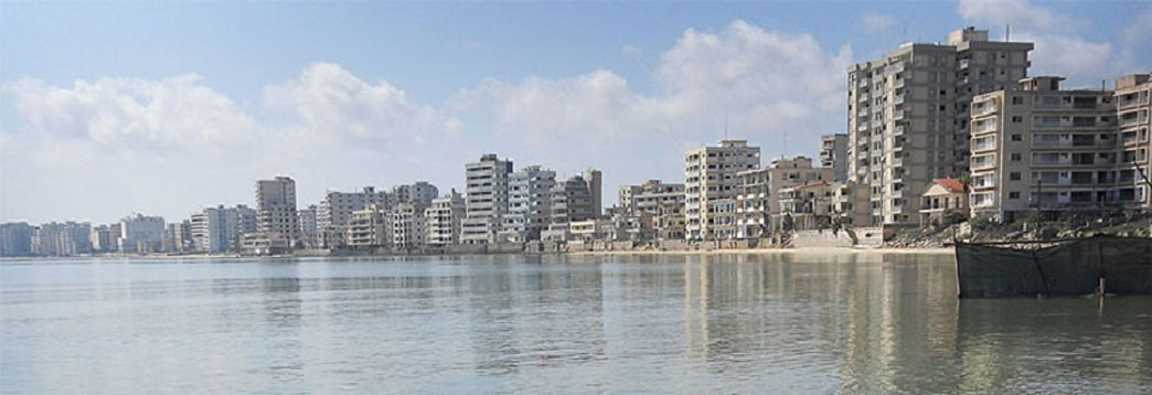 Abandoned Mediterranean Resort: Varosha Quarter in Famagusta, Cyprus ...