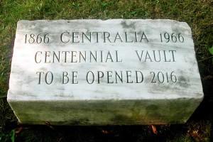Centralia time capsule