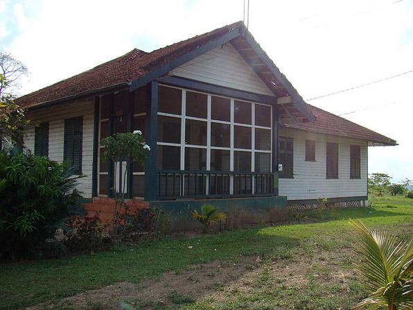 Fordlandia abandoned house