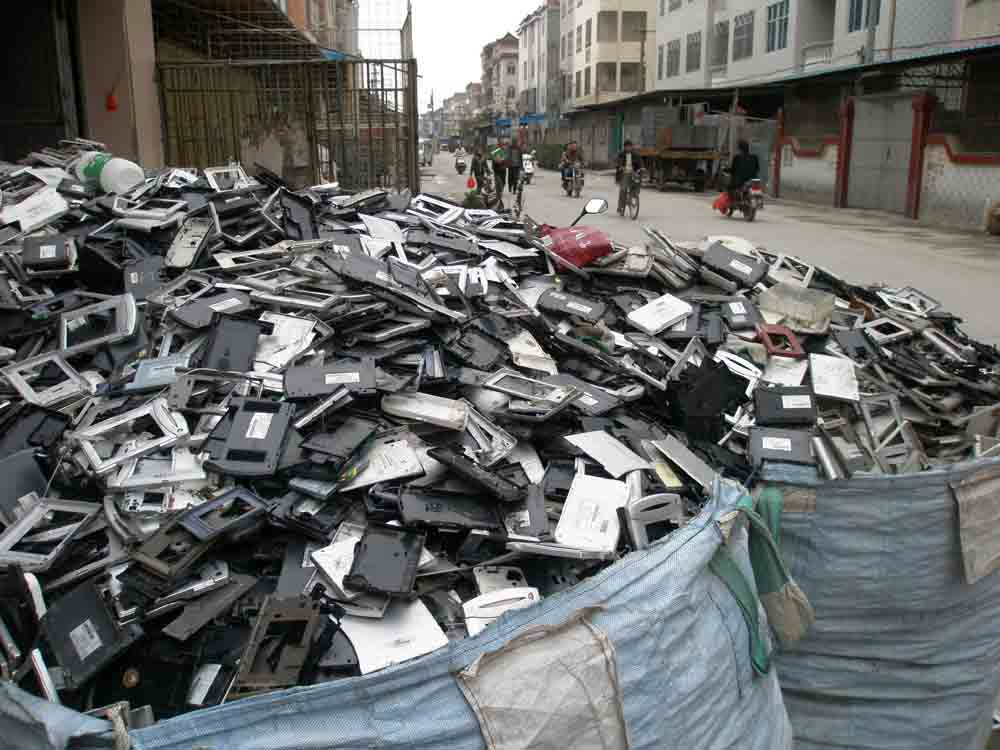 Guiyu China electronic waste dump of the world
