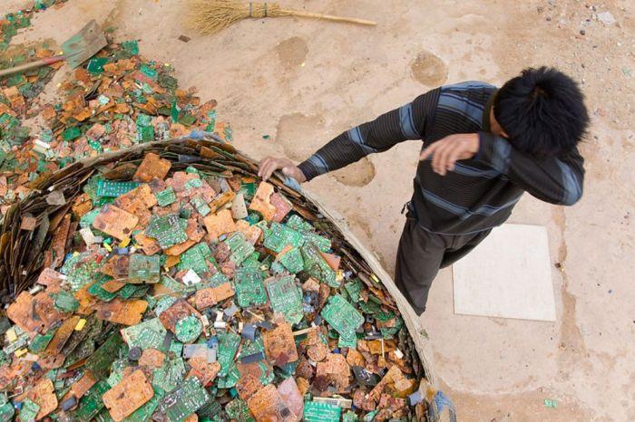 Guiyu China electronic waste dump of the world