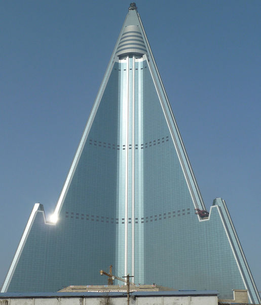 Ryugyong Hotel Nearly finished in 2011