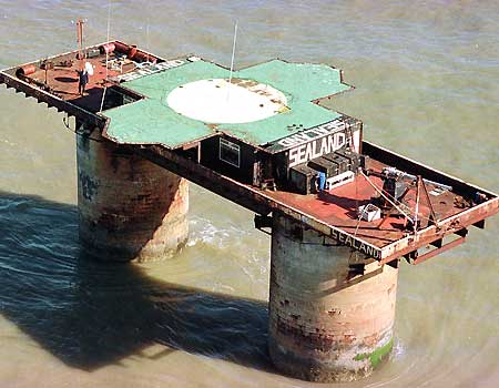 Sealand: Smallest Country in the World