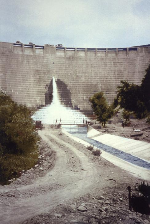 St. Francis Dam before collapse