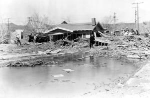 St. Francis Dam wreckage