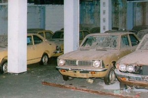 Varosha Cyprus abandoned new cars