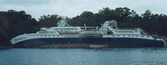 World Discoverer Cruise Ship 2000