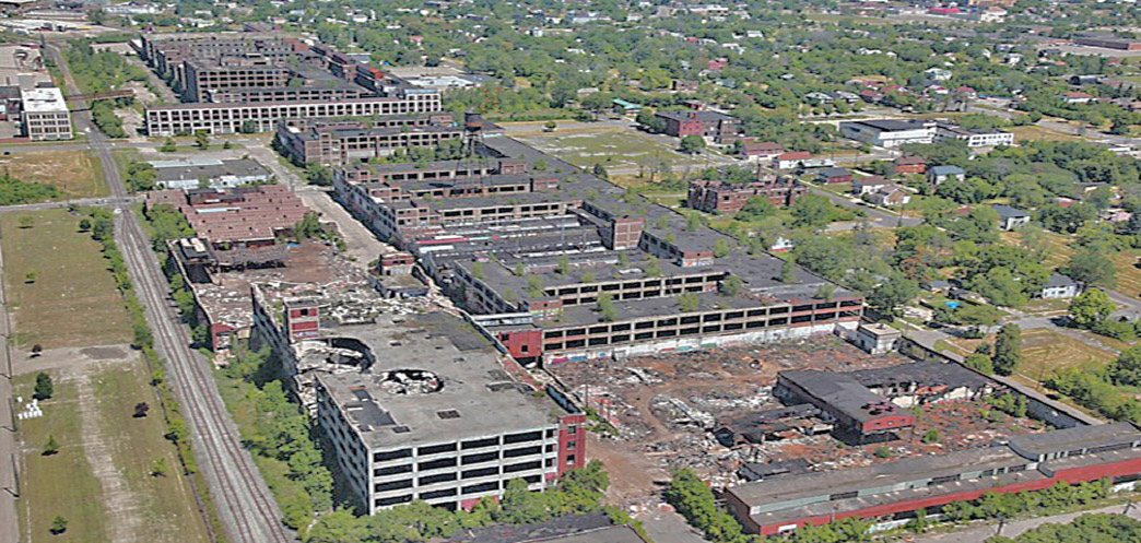 Largest Abandoned Factory in the World: The Packard Factory, Detroit