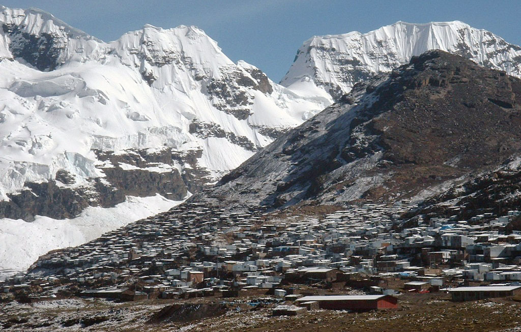 La Rinconada Peru highest city in the world