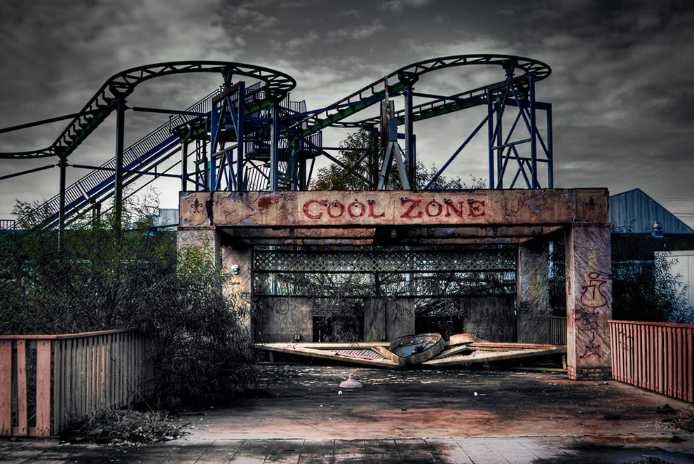 Real-life Zombieland set? Six Flags New Orleans