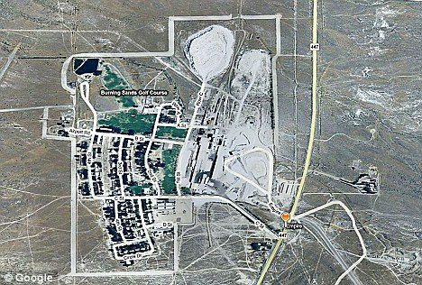 Empire Nevada map