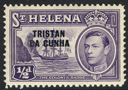 Tristan da Cunha stamp