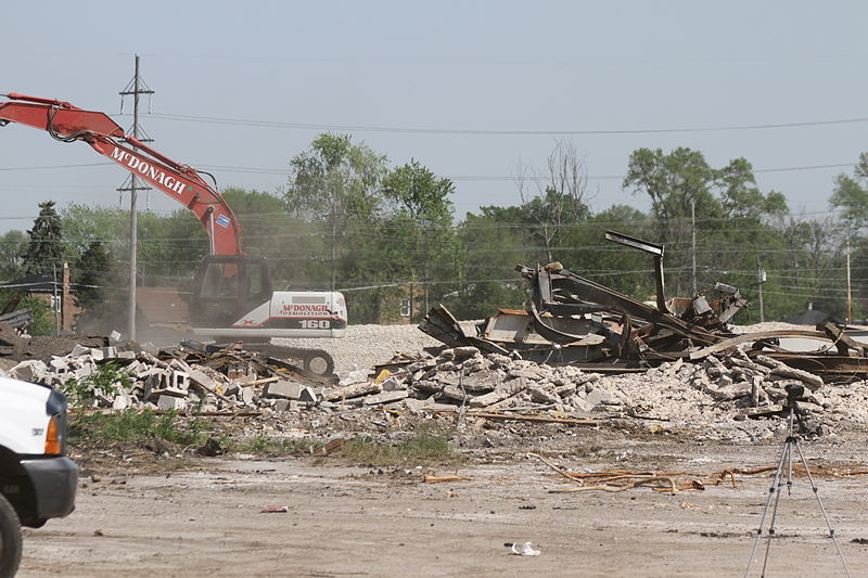 Dixie Square Mall demolition