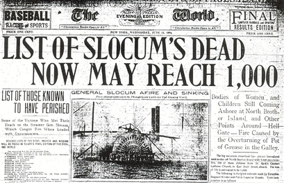 PS General Slocum Disaster