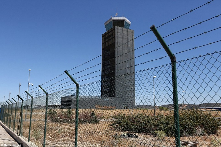 Abandoned us Airports Abandoned Airport Ciudad Real