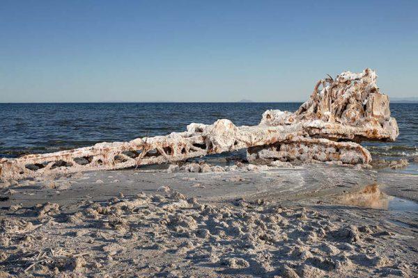 Salton Sea abandoned crane