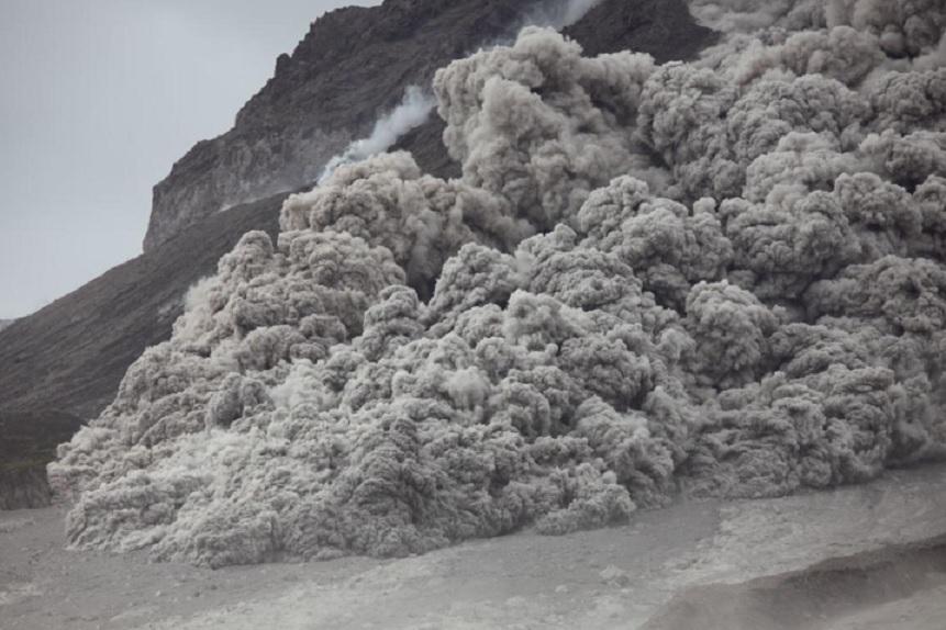 Plymouth Montserrat eruption