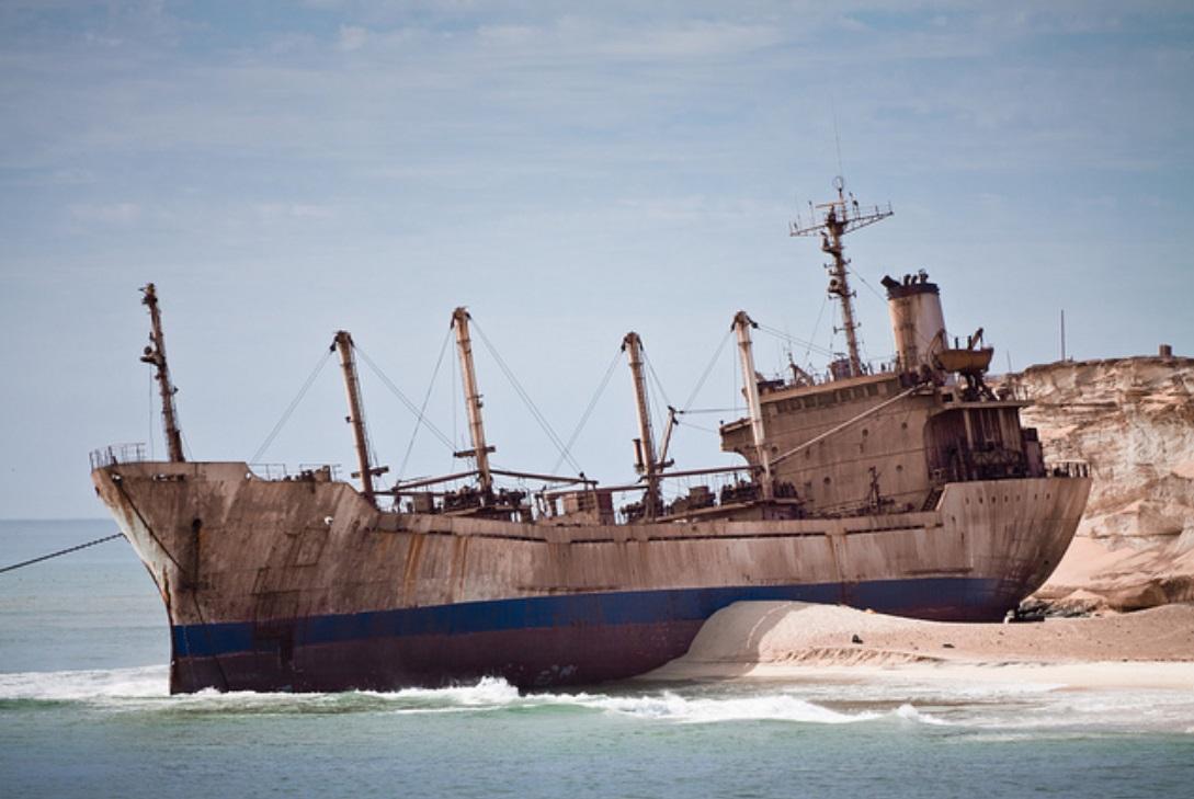 Largest Ship Graveyard In The World Nouadhibou Mauritania