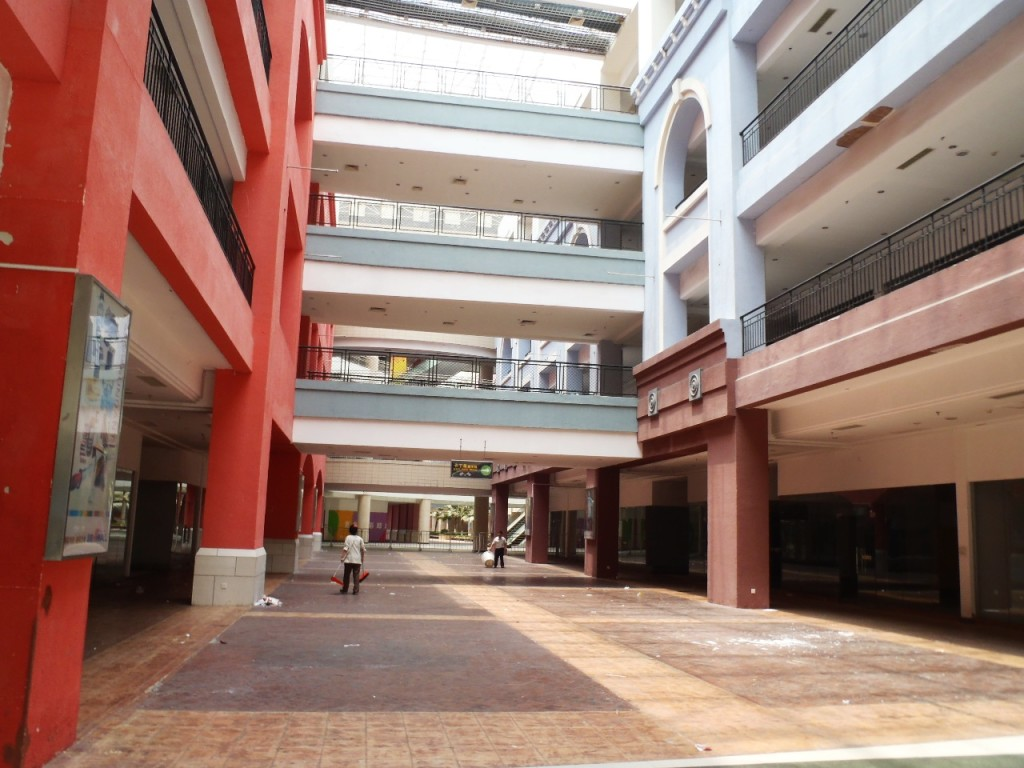 Abandoned corridors of the New South China Mall