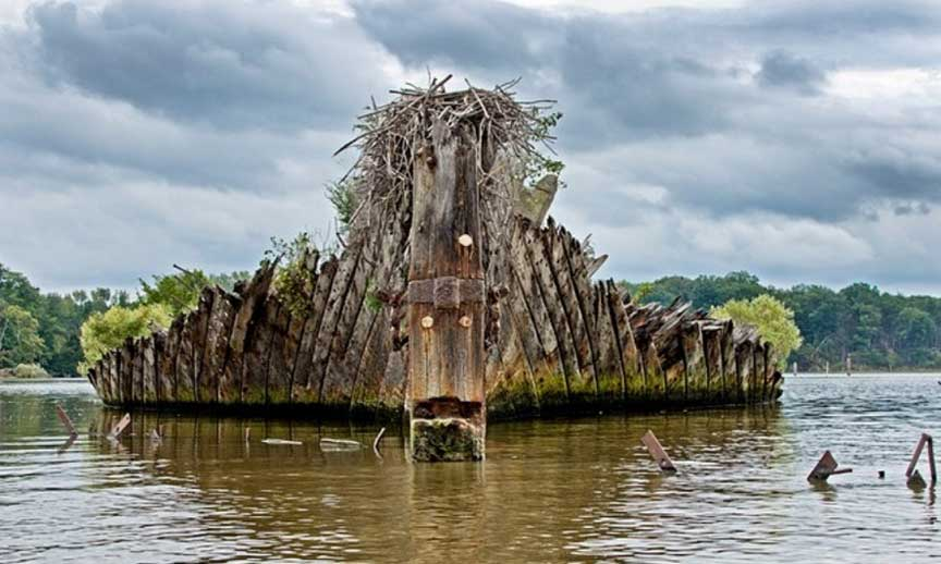The Ghost Fleet Of Mallows Bay Sometimes Interesting