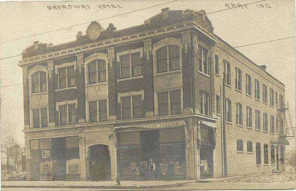 Gary Broadway Hotel 1910 1