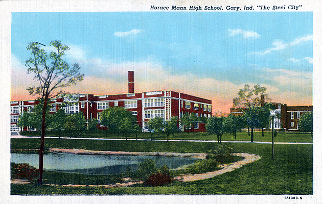 Image result for horace mann high school postcards