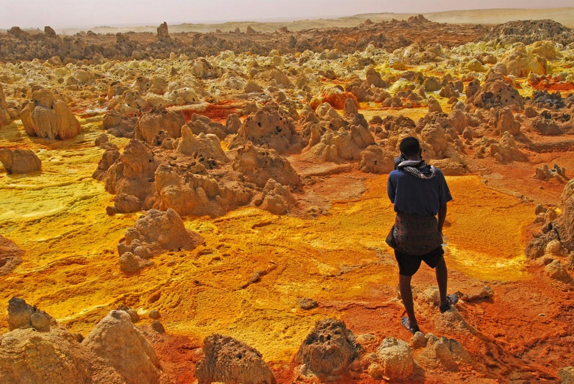 Hottest Inhabited Place on Earth: Dallol, Ethiopia