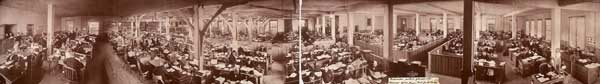 Armour company panoramic photo of headquarters chicago