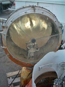 Unrestored U.S. Airmail Beacon lamp