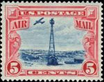 airmail beacon system stamp