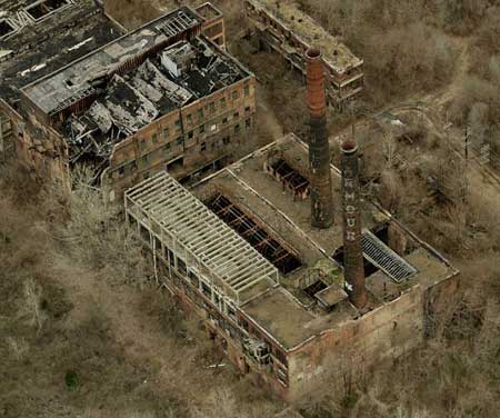 Armour plant east st. louis aerial