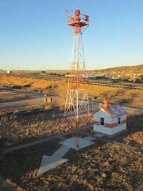 Grants Milan NM airmail beacon tower