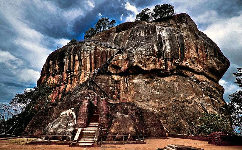Sigiriya Rock (courtesy Justin Anderson)