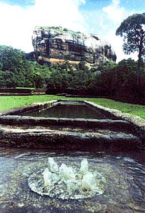 Sigiriya fountain