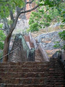 Sigiriya steps