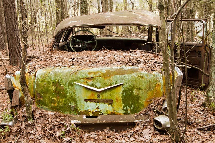 World's Largest Old Car Junkyard: Old Car City U.S.A ...