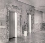 Lobby of Trade school at Pressmen's Home