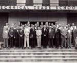 Pressmen's Home Trade School executives