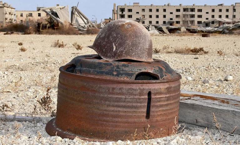 Abandoned Anthrax: Vozrozhdeniye Island
