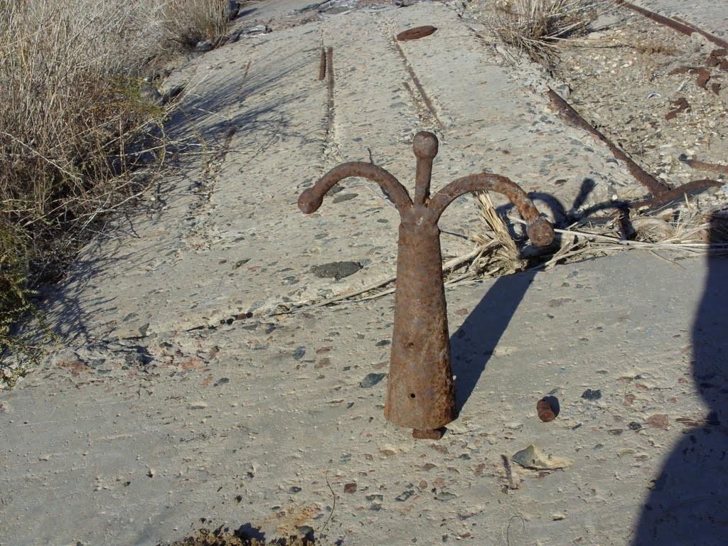 Aralsk-7 range tie