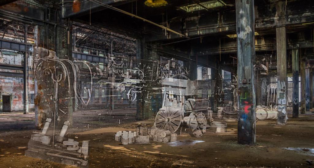 abandoned duluth missabe railroad warehouse