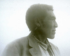 Ishi profile, 1911