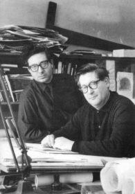 Isi-Metzstein-Andy-Macmillan-at-GKC-1960s