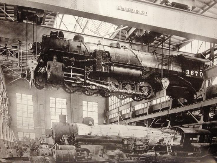 early-rail-service-facility