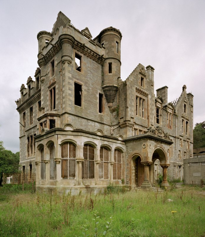 Kilmahew House before demolition (courtesy rcahms)